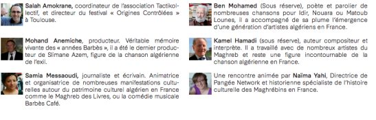 intervenants table ronde algerie