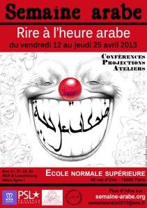 semaine arabe ens