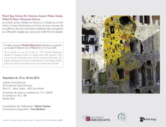 exposition Syrie