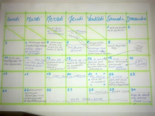 planning juin