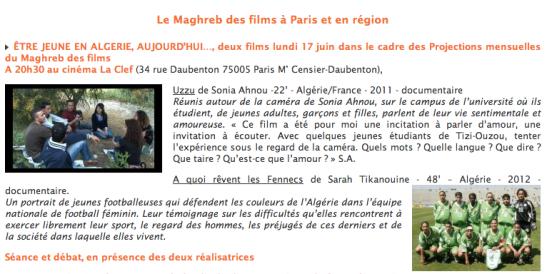 le maghreb des films