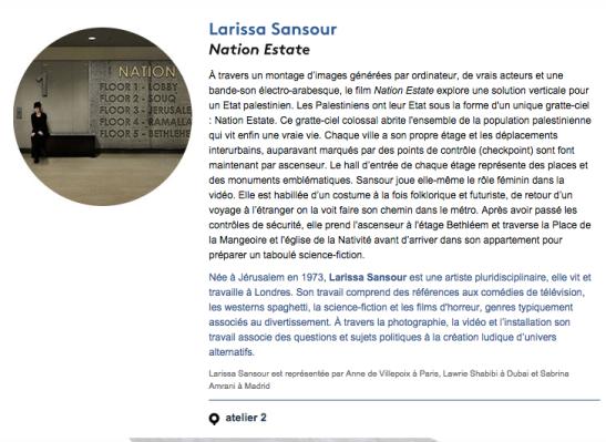 Larissa Sansour
