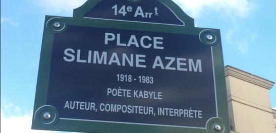 place slimane azem