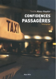 confidences passageres