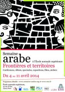Avril 2014 Affiche Semaine arabe